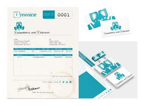branding design invoice how to design a killer invoice that reflects your style