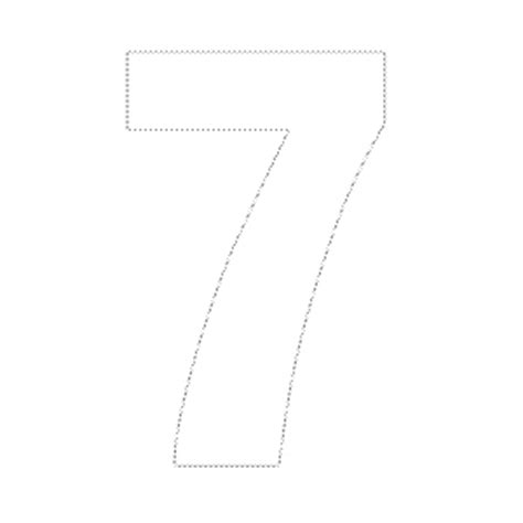 Cut Pro 7 Templates Free 7 best images of large printable number 7 large stencil