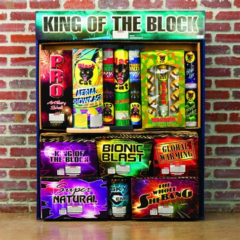 Backyard King Firework Assortments Pyro City Maine Fireworks Store