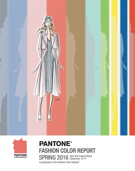 fashion colors for 2016 pantone fashion color report spring 2016 fashion trendsetter