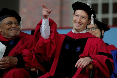 Youngest Harvard Mba Graduate by Zuckerberg Gives Harvard 2017 Graduates His Tried And