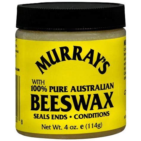 Murray S Beeswax Black Hair Pomade 4 Oz Murray S Beeswax For Hair Walgreens
