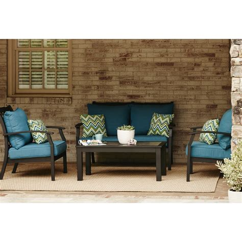 patio allen roth umbrella lowes patio dining sets