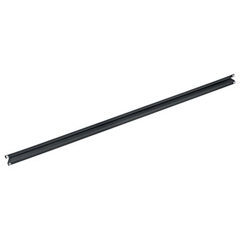 edsal shelving replacement parts edsal manufacturing ube4702g steel beam for ur 245wgb 48 quot black furniture shelving accessories