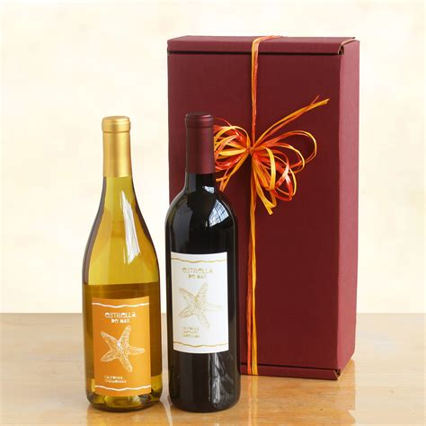 classic duet red and white wine gift wine lovers