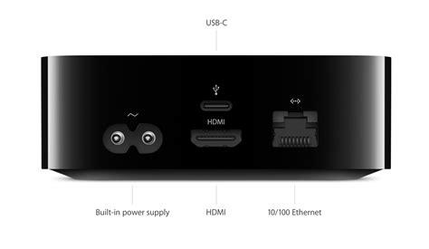 Usb Apple apple tv 4 generace disponuje 2gb ram a usb c konektorem