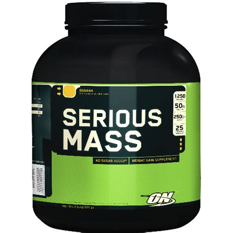 On Serious Mass Serious Mass 6 Lbs By Optimum Nutrition Ns Suplementos