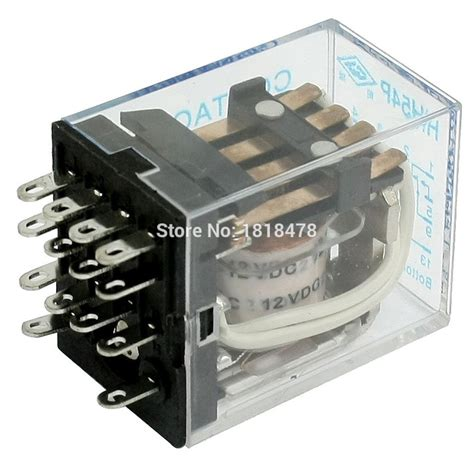 7031 Relay 40a Kaki 2 dc12v coil 5a 240vac 28vdc electromagnetic relay hh54p 14
