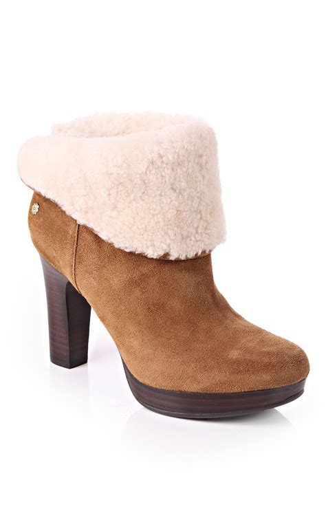 fur ugg boots uggs boots with fur trim