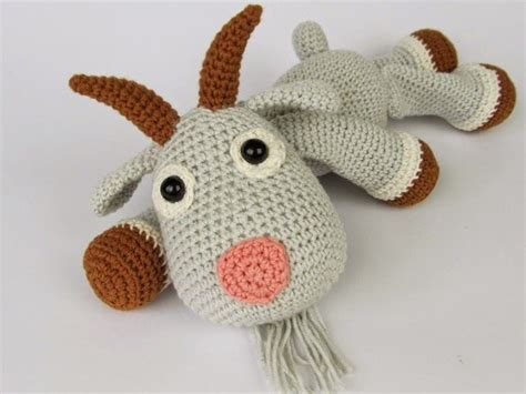 what are these pattern you have observed free crochet goat pattern hope you like these two