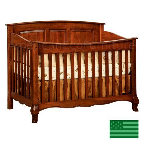 French Country Slats Convertible Baby Crib Made In Usa Usa Made Baby Cribs