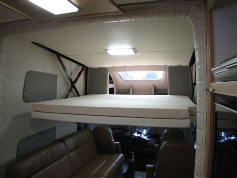 drop down bed rv drop down bed scissor google search van pinterest