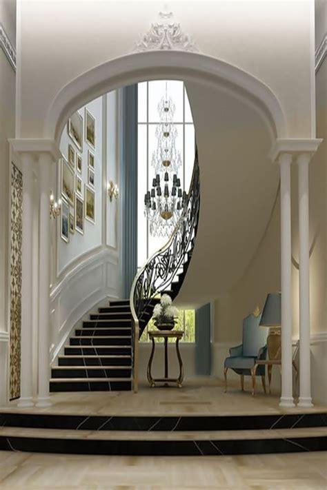 Grand Stairs Design Design E Luxo Em Dubai Wealth Mansion And Castles