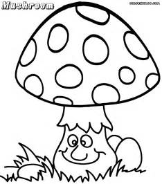mushroom coloring pages coloring pages to download and print