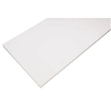 White Laminate Shelf by Rubbermaid 12in X 72 In White Laminate Decorative Shelf