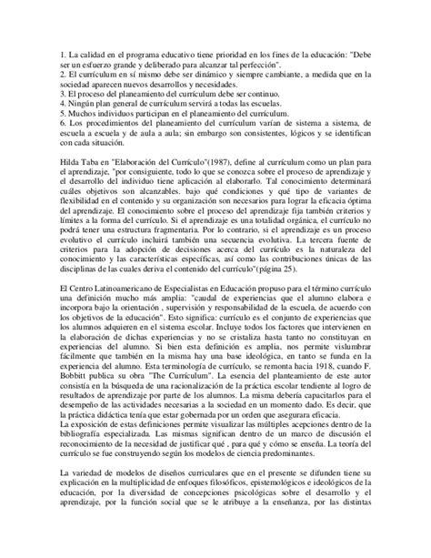 Diseño Curricular Prescriptivo Definicion Palladino E Dise 241 Os Curriculares Y Calidad Educativa