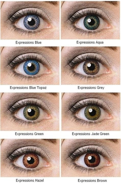 buy color contacts buy expressions colors contact lenses canada