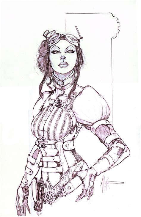 Lady Mechanika Comic Con Comis by alexkonat on DeviantArt