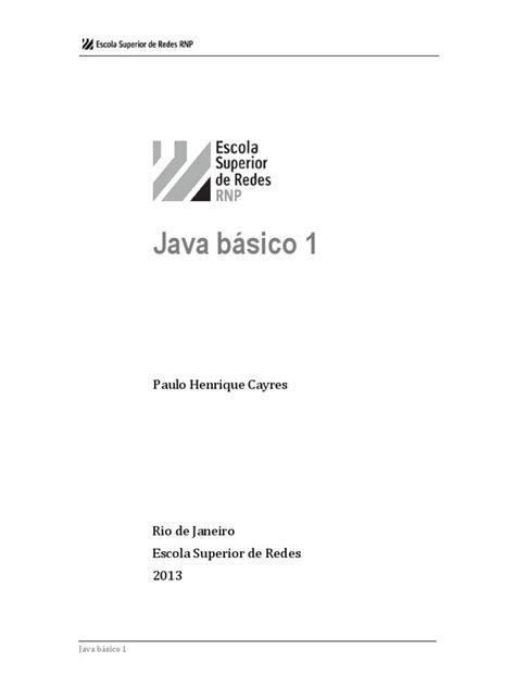 Java Básico | Linguagem de Programação | Java (Linguagem