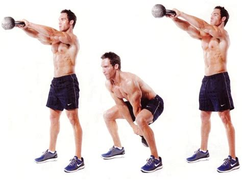 kettlebell squat swing 5 kettlebell exercises for beginnersrivertea blog