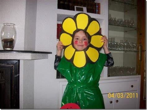 disfraz girasol imagui flores en foami para disfraces imagui