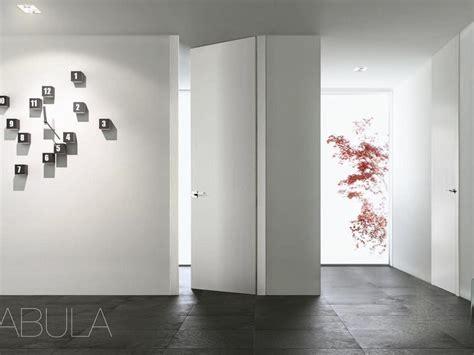 altezza porte interne porte filomuro con apertura a spingere e a tirare o biverso