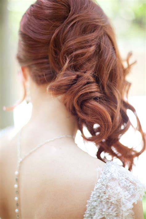 Wedding Hairstyles Swept To One Side by Side Swept Wedding Hairstyles To Inspire Mon Cheri Bridals