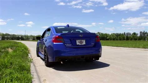 subaru dual exhaust subispeed 2015 subaru wrx and sti invidia n1 dual