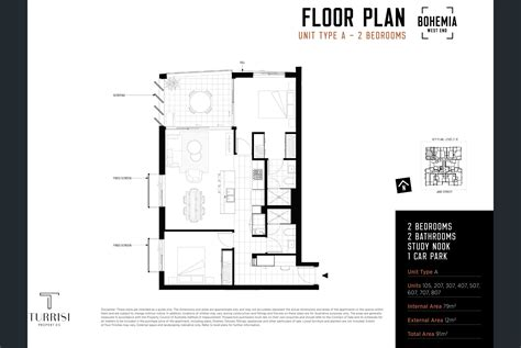What Is A Floor Plan Bohemia West End Grunge Chic Apartments Property Mash
