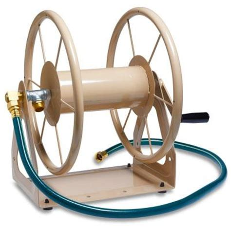 200 Ft Garden Hose by Liberty Garden 200 Ft 3 In 1 Hose Reel 703 The Home Depot