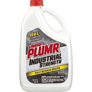 liquid plumr bathtub liquid plumr 128 oz industrial strength gel drain opener 4460000252 the home depot