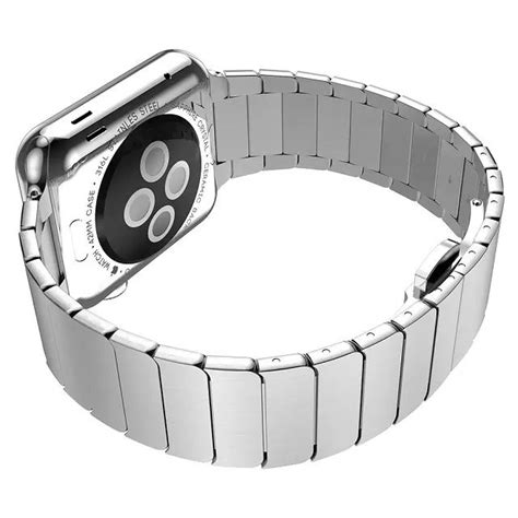 Mgslimfit Style Stainless Steel Band For Apple 38mm Ho T1310 hoco link style stainless steel band for apple 38mm
