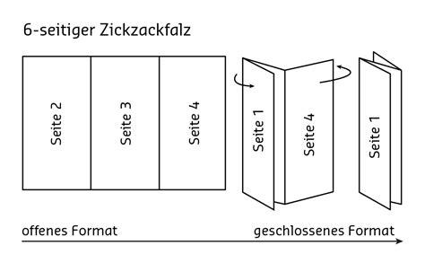 Word Vorlage Wickelfalz Flyer Mit Zickzackfalz Gestalten 187 Saxoprint