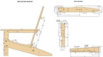 Woodwork adirondack chair plan pdf pdf plans