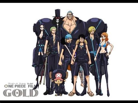 Glm Brook Gold One Original one gold characters design straw hat crew