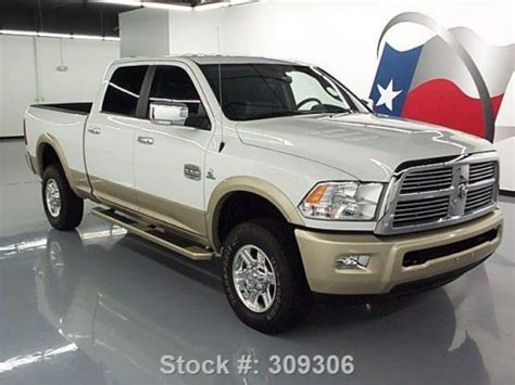 buy   dodge ram  laramie longhorn crew diesel  texas direct auto  stafford