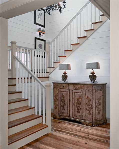 landing banister bright banisters mode other metro rustic staircase