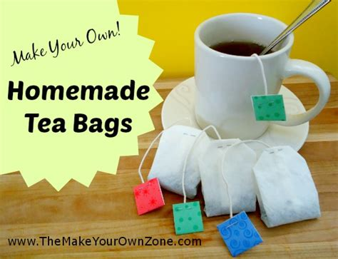 How Tea Bag Is Made by How To Make Your Own Tea Bags The Make Your Own Zone