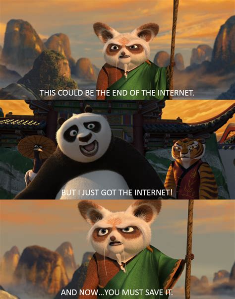 Meme Kung Fu - kung fu panda meme saving the internet by