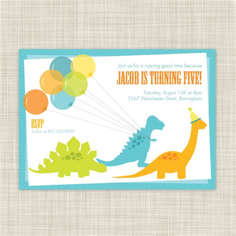 printable dinosaur invitation cards dinosaur invitations free printable 2017 birthday party