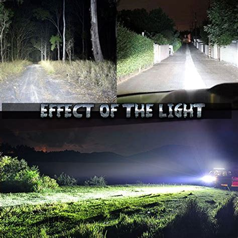 road led light bar for trucks nilight 2x 18w led spot work light road light fog