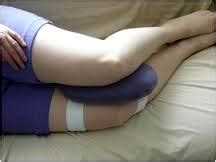 Sleeping Knee Pillow by Pillow Talk With Your Doctor Stuart Chiropractor Coast