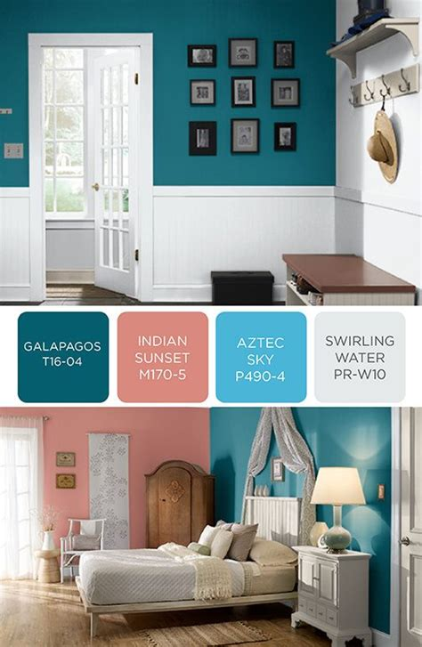 behr paint colors combinations behr paint in galapagos indiana sunset aztec sky and