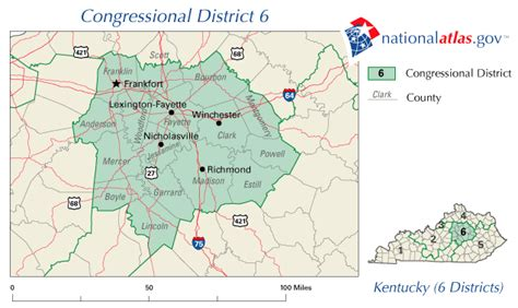 map of the united states kentucky image gallery 6 map