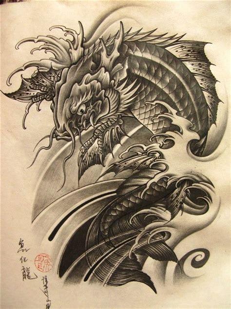flying dragon tattoo designs 1000 ideas about koi on koi