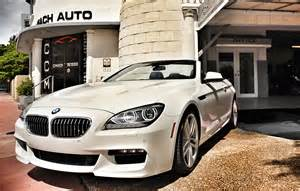rent brand new bmw 6 series convertible m package in miami