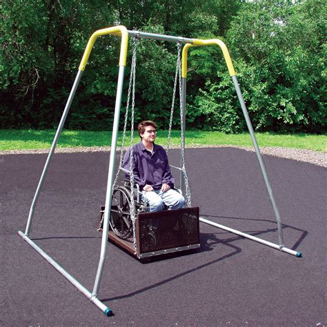 portable swing set sportsplay ada portable swing commercial playground