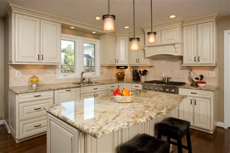 river white granite with white cabinets yellow river granite countertops a unique feature in