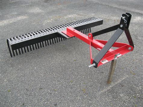 Landscape Rake Auction Eurofarm 6ft Landscape Rake For Sale Farm Trader New