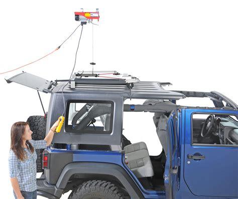 Jeep Hardtop Hoist System Lange 014 210 Power Hoist A Top Hardtop Removal System